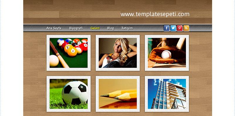 Bireysel Web Sitesi Tasarımı